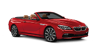 BMW, Red Convertible