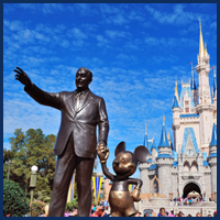 Walt Disney World Statue