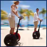 People on Segway